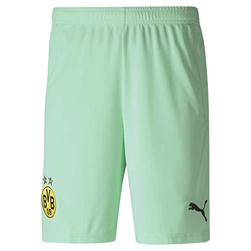 PUMA Herren BVB GK Shorts Replica, Green Glimmer, M