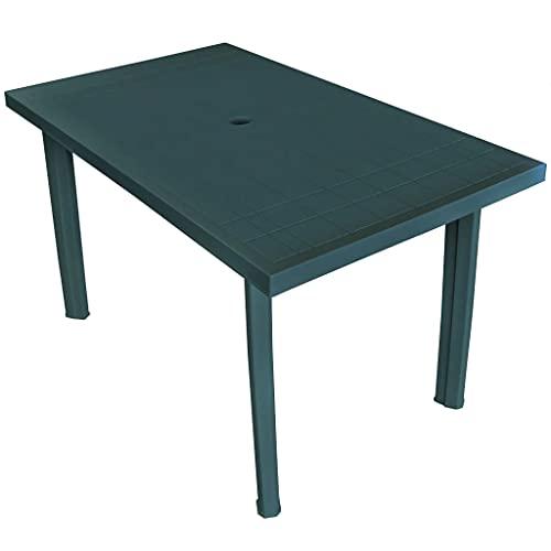 Table de jardin plastique