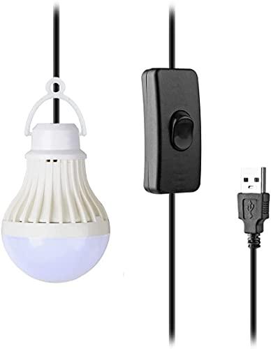 COOLEAD Lámpara de Camping Led Linterna de Camping Farol LED Portátil para Tienda Impermeable Lampara Camping LED Luz para Pesca Montaña Excursión Jardín Patio (Blanco)