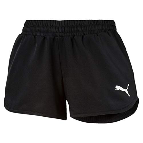 PUMA Damen Hose Active Woven Shorts, Puma Black, M, 851776