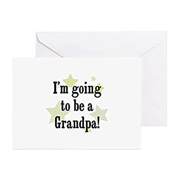 I m going to be a Grandpa Fathers day Greeting Card Funny Quotes for Husband Son Dad Friend from Daughter Wife Thank you Card