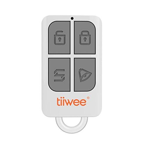 tiiwee Fernbedienung TWRC01 für das tiiwee Home Alarm System - Alarmanlage Sicherheitstechnik Einbruchschutz