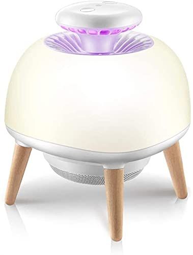 Mwdeng Dormitorio LED Mosquitero Killer | Inicio Interfaz USB Mosquito trampa | Luz de noche portátil al aire libre | Pantalla de silicona | Sin radiación, super silencioso | por Camping de sala de es