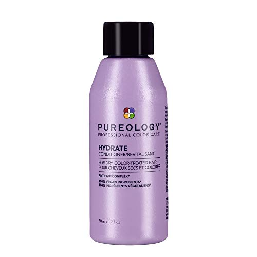 Pureology Hydrate Conditioner | For Dry, Color-Treated Hair | Moisturizes Hair & Protects Color | Sulfate-Free | Vegan | Updated Packaging | 1.7 Fl. Oz. |