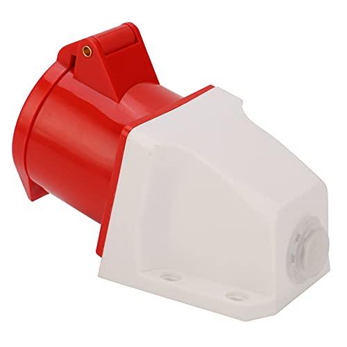 Toma de corriente industrial, diseño anti-caída Toma de corriente industrial trifásica para ahorro de agua para estacionamientos