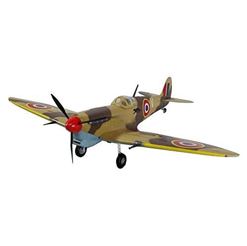 JHSHENGSHI Plastikmodell im Maßstab 1:72, Military Spitfire MKV Britische Sammlerstücke und Geschenke für Erwachsene, 6,1 Zoll x 4,9 Zoll