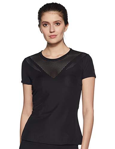adidas Feminine tee Camiseta, Mujer, Negro, XS