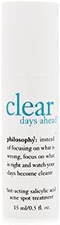 Philosophy Clear Days Ahead Fast Acting Acne Spot Treatment 15ml/0.5oz