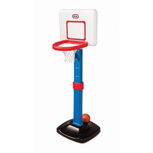 Little Tikes TotSports Kit de Basketball - La Hauteur est Réglable - A partir de 18 mois jusqu'à 5 ans