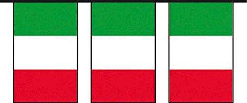 Guirlande de drapeaux Italie (10 m)