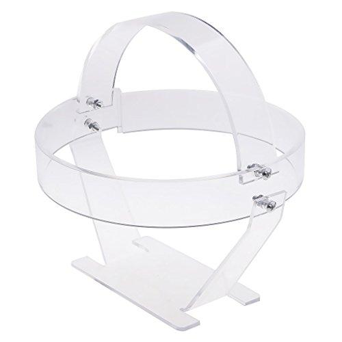 D DOLITY 1 Stück Anmutig gebogener Acryl - Displayhalter Für Ihren Hut, Stift, Uhr Tischdekoration oder Mittelplatte