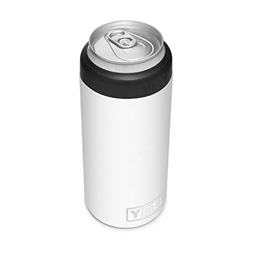 YETI Rambler 12 oz. Colster Slim Can Insulator for The Slim Hard Seltzer Cans, White