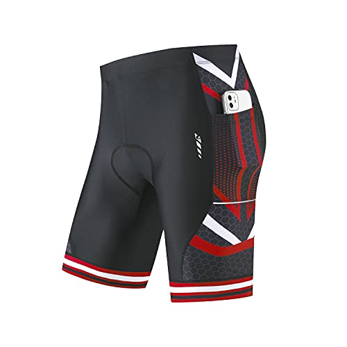 BALEAF Men's Bike Shorts 4D Padded Pockets Cycling Bicycle...