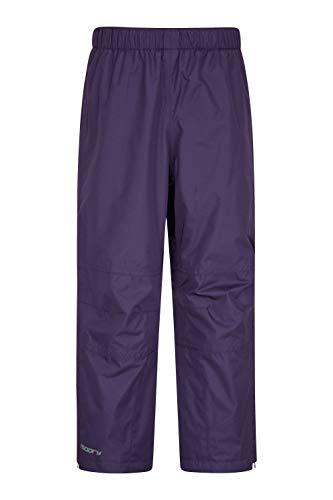 Mountain Warehouse Sovrapantaloni Impermeabili per Bambini Spray - Pantaloni Traspiranti per Bambini, Pantaloni per la Pioggia con Cuciture Nastrate,
