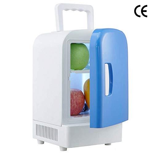 ADHW Mini Frigo Glacière Électrique Portable Personnel Réfrigération et Chauffage,6 boîtes de 12 oz,100% sans Fréon et Respectueux de l'environnement,Comprend les Bouchonspour Home Outlet & Chargeur d