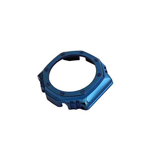 HGGFA Correa de acero inoxidable 316 modificada para hombre, accesorios para reloj GA2110 2100 (correa de reloj deportiva: caja 1, ancho de la correa: 14 mm)