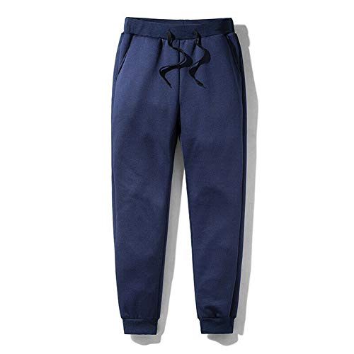 Baifeng Pantaloni Termici in Pile da Uomo Spessi Pantaloni Casual Caldi Invernali da Esterno Pantaloni Sportivi novità