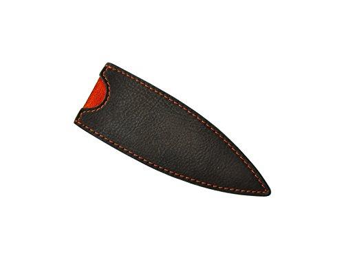 Deejo - Étui en Cuir pour Couteaux Deejo 37g, Mocca - Design et Cuir Véritable - Protection Optimale pour votre Couteau de Poche