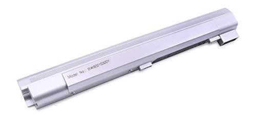 vhbw Batterie LI-ION 4400mAh 14.8V Couleur argenté pour MSI MegaBook, Advent, Bluemedia etc. remplace MS1006 / MS1006(MS1012) / MS1006(MS1012) V1 etc.