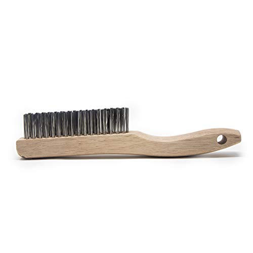 Osborn 83008SP Economy Shoe Handle Stainless Steel Wire Scratch Brush,...
