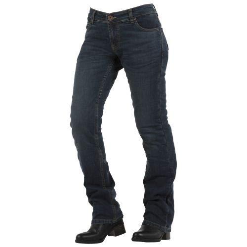 Overlap Donington dames jeans Roadline, grijs/blauw, maat 34