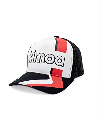 Kimoa - Curva Gorra de béisbol, Negro, Estándar Unisex Adulto