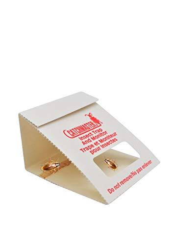 Catchmaster 100i – Trampas adhesivas – Fabricadas en Estados Unidos – Sin veneno ni biocidas – Medio contra – Cucarachas | cucarachas | cucarachas | cucarachas | arañas (juego de 10 x 3)