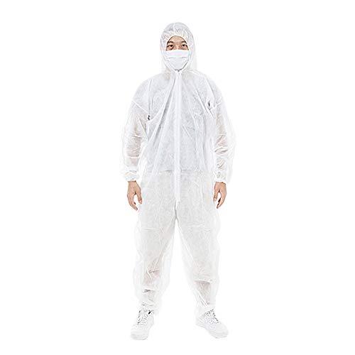 Beschermende kleding werkkleding wegwerpbeschermende kleding antifouling-kleding Werker beschermende kleding XL wit