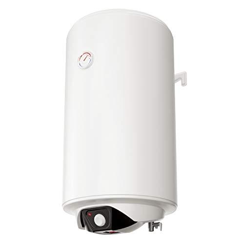 Eldom SV08044 80 Liter Warmwasserspeicher 2 kW. manuelle Steuerung Spectra 80, 230 V, Weiß