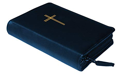 Butzon und Bercker 84040505 Gotteslobhülle Leder genarbt mit Goldprägung Kreuz blau