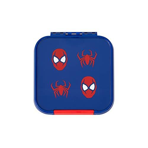 Little Lunch Box Co. Mini Snackbox für Kinder mit Unterteilungen | Bento Box | Brotdose (Spinne)