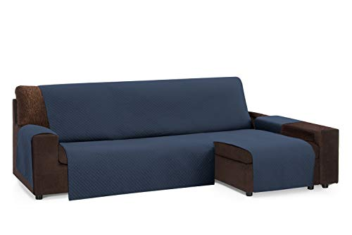 Martina Home Diamond Cubre Chaise Longue Acolchado Universal, Marengo, 240 cm
