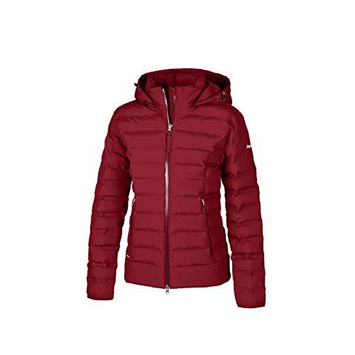 PIKEUR Damen Steppjacke MATHEA mit Kapuze Sportswear Winter 2020, pomegranate, 92