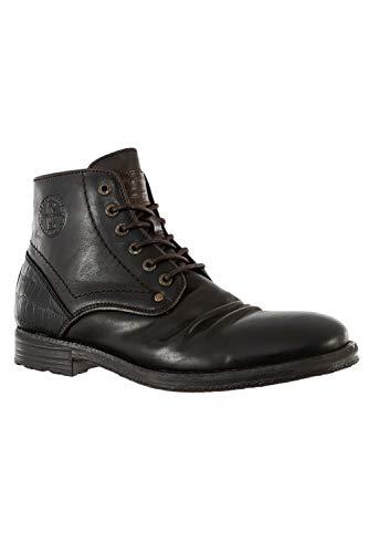 Redskins Schuhe Stadt Bambus A1 Katze + Schwarz, Braun - braun - Größe: 41 EU