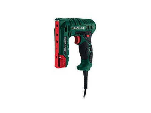 PARKSIDE Elektro Nagler/Hefter Phet 15B1Kompatibel mit Standard-Zubehör, wenn Sie Top auf Nägel und Heftklammern. Einsatzbereich: Dekorieren, Basteln oder household. Kabellänge 3m.