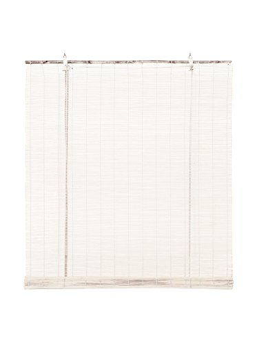 STOR PLANET Estores Collection Estor Bamboo Blanco 60 x 175 cm