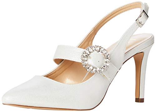 Lotus Mishka, Zapatos de tacón con Punta Cerrada Mujer, Blanco (Ice Powder), 40 EU