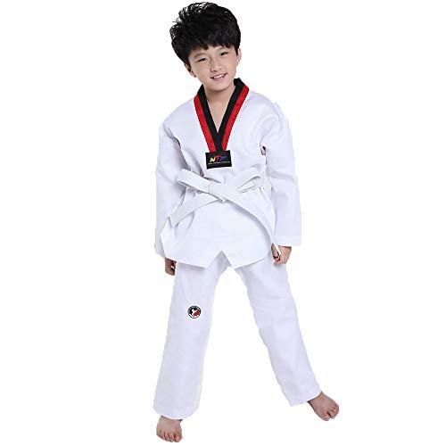 Kinderen korte mouw lange mouw taekwondo kleding, Herfst en zomer mannen en vrouwen vechtsporten kleding Coach pak Trainingskleding