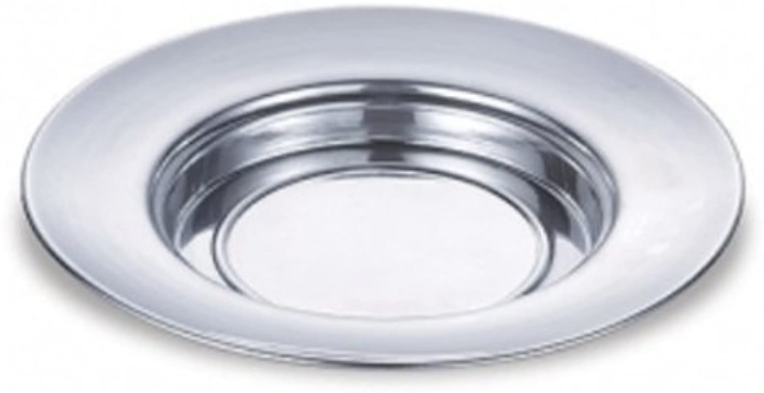 Polished Aluminum Bread Plate