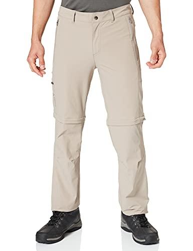 VAUDE Herren Hose Men's Farley Stretch ZO Pants, boulder, 48-Short, 42241