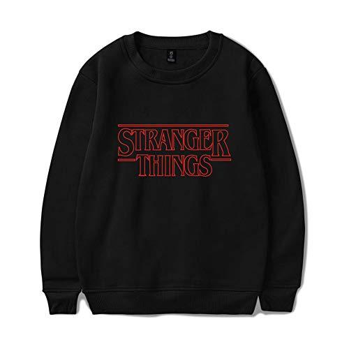 Enjoyyourlife Stranger Things Felpe Donna Sweater Sweatshirt Pullover Hip Hop Maglione Maniche Lunghe Maglietta per Uomo Donna