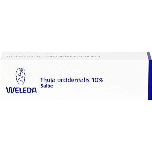 WELEDA Thuja occidentalis 10% Salbe, 25 g Salbe