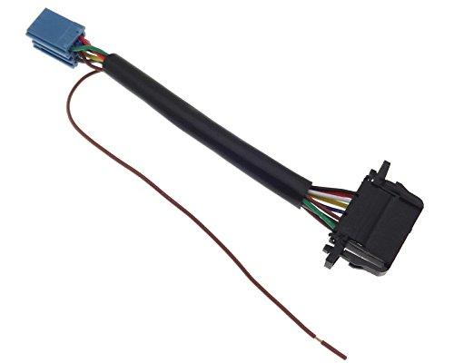 Câble de changeur CD Mini ISO 8 broches 12 broches Compatible avec Audi Seat Skoda VAG MCD MFD Sound Gamma Beta Phatbox