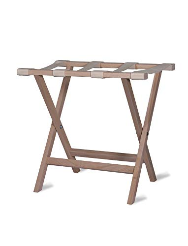 Garden Trading FLBE01 Weekend Folding Luggage Rack-Beech, Spruce, Natural