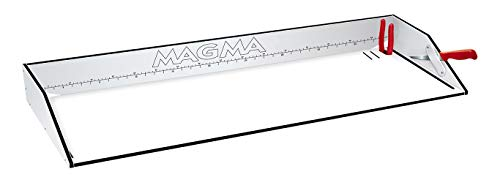 Magma Products First Mate Dual Mount Filet Table, White/Black/White, 41""