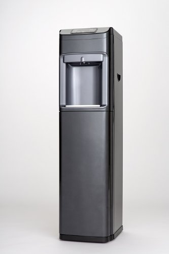 Hot, Cold, and Room Temperature Free-Standing Water Cooler in Black