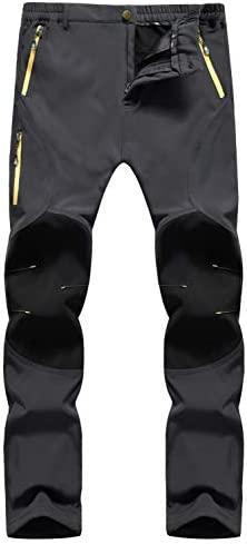 Singbring Men s Outdoor Quick Dry Lightweight Hiking Pants Medium Gray 05B product image