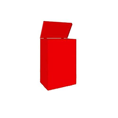 FireFox 0004189 plaid, groot, met deksel, rood, 480 mm x 300 mm x 200 mm