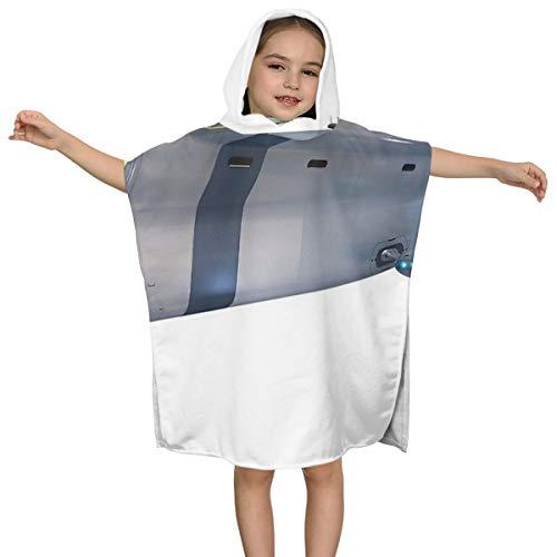 Kinderbadhanddoek met capuchon Fietsen Hoge kwaliteit Zwemmen Multifunctionele Mantel Ontwerp Super Zacht en Super Grote Ultrafijne Polyester Fiber voor Meisjes en Jongens