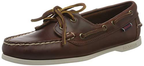 Sebago Jacqueline Waxy W, Women's 71111HW Boat Shoes (Brown 900) 4.5 UK, 37.5 EU